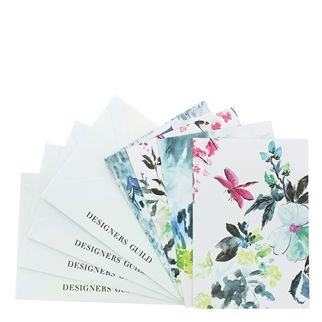 Chinoiserie Peony Postcards