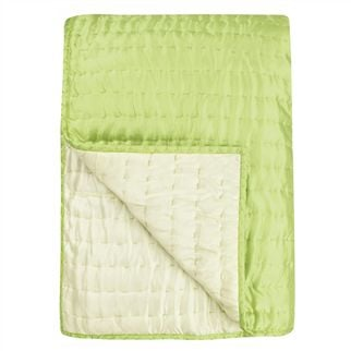 Chenevard Wild Lime & Pale Mint Quilts & Pillowcases