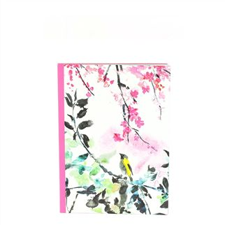 Chinoiserie Peony A5 Notebook
