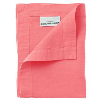 Lario Coral Placemats & Napkins