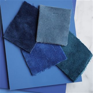 Varallo Sea Fabric | Designers Guild Essentials