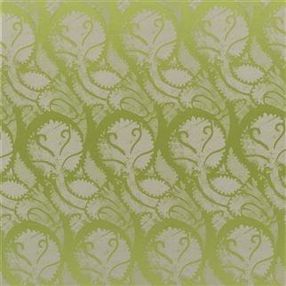 majella - leaf fabric