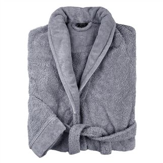 spa graphite bath robe
