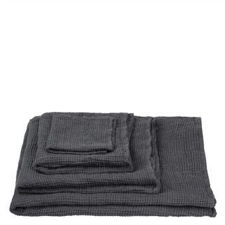 Moselle Graphite Towels