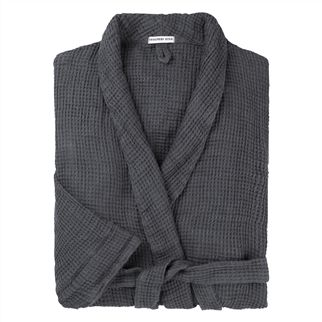 Moselle Graphite Bath Robe