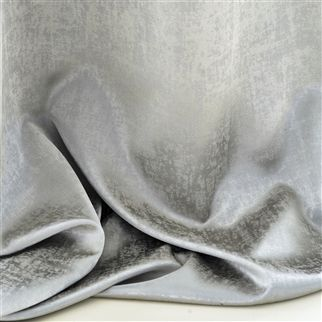 Canzo Silver Fabric | Designers Guild Essentials