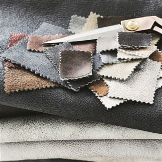 Nevada Pewter Fabric | Designers Guild Essentials