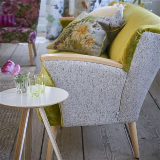 Brecon Silver Fabric | Designers Guild Essentials