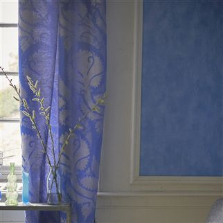 Parchment Delft Tile Wallpaper | Designers Guild