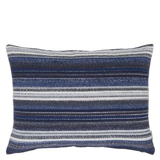 Turrill Indigo Cushion