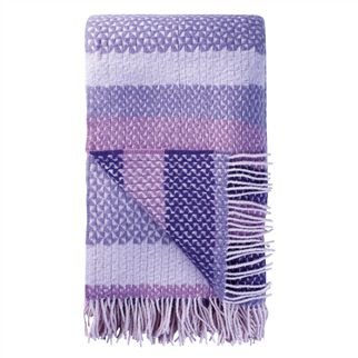 Fortrose Violet Throw