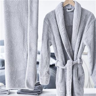Spa Silver Towels | Designers Guild