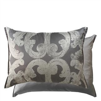 Portico Silver Decorative Pillow