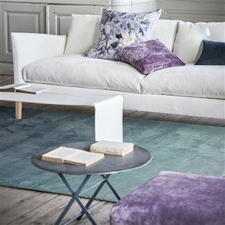 Capisoli Teal Green Ombre Rug | Designers Guild
