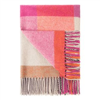 Balintore Zinnia Throw