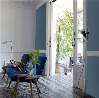 Borage Flower Blue No. 46 Paint | Designers Guild