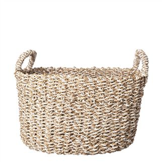 Handled Small Seagrass Basket