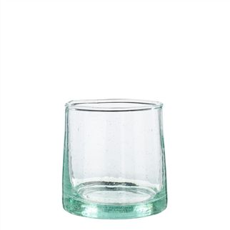 Cone Shaped Clear Small Glass