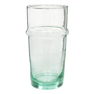Recycled Glass Clear Pint Vase