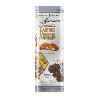 Cantucci Biscotti Tall Tin