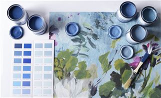 The Paint Edit: Autumn blues