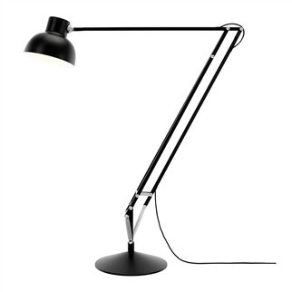 black anglepoise type 75 maxi floor lamp