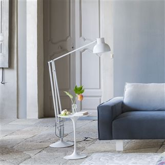 white anglepoise type 75 maxi floor lamp