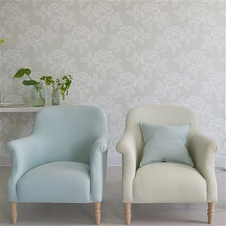 Brera Lino Thyme Fabric | Designers Guild Essentials