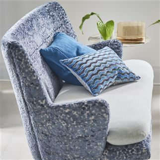 Murrine Delft Fabric | Designers Guild