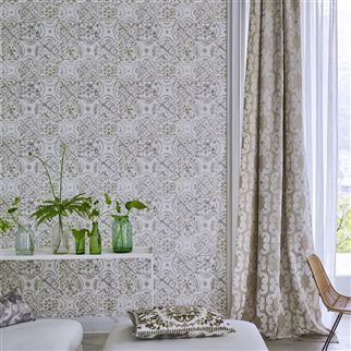 Pesaro Emerald Wallpaper | Designers Guild