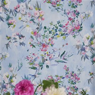 Faience Sky Wallpaper | Designers Guild