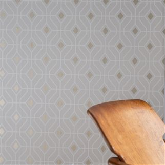 Laterza Delft Wallpaper | Designers Guild