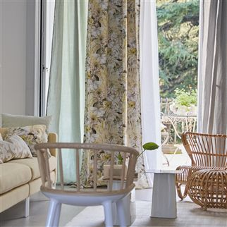 Montelupo Birch Fabric | Designers Guild