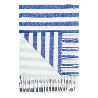 Mattonelle Cobalt Throw