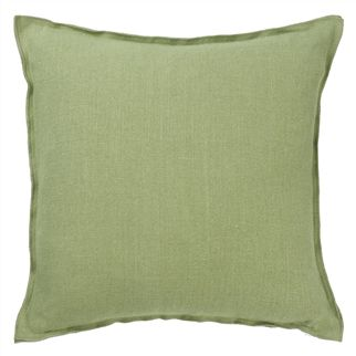 Brera Lino Olive Decorative Pilllow