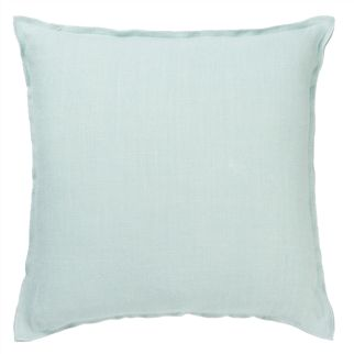 Brera Lino Pale Aqua Decorative Pillow