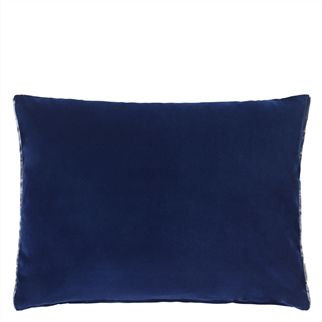 Cassia Indigo Cushion