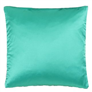 Latticino Azure Cushion  - Reverse