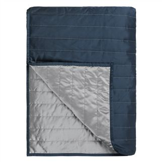 Tiber Indigo & Zinc Quilts & Pillowcases