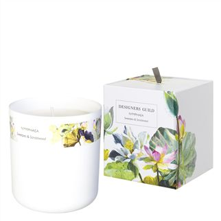 Nymphaea Sweet Pea And Sandalwood Candle