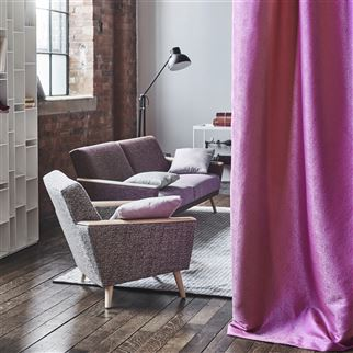 Sesia Lilac Fabric | Designers Guild Essentials