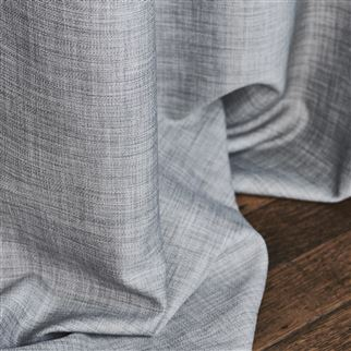 Lorton Pewter Fabric | Designers Guild Essentials