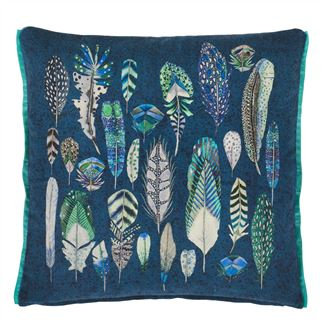 Quill Cobalt Decorative Pillow