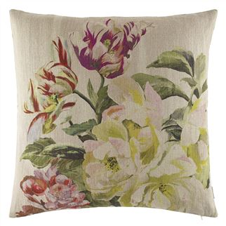 Delft Flower Tuberose Decorative Pillow
