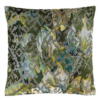 Bardiglio Emerald Decorative Pillow