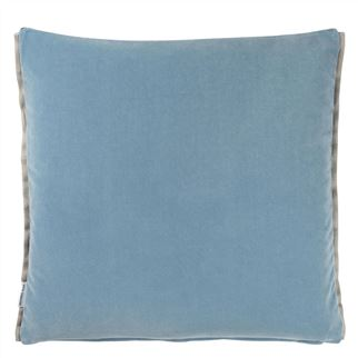 Varese Prussian Cushion  - Reverse