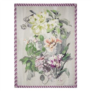 Delft Flower Tuberose Throw
