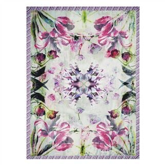 Tulipa Stellata Fuchsia Throw