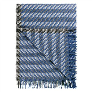 Makrana Indigo Throw