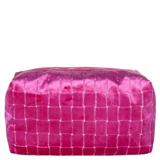 Leighton Fuchsia Large Washbag